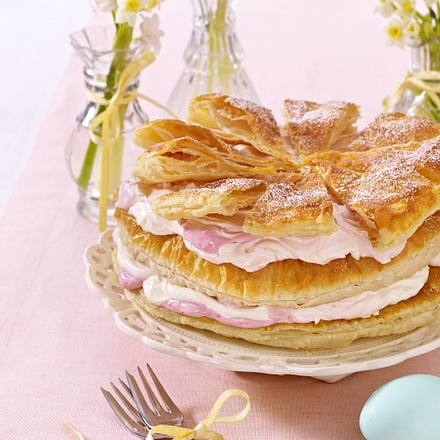 Zitronen-Fächer-Torte Rezept