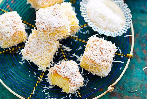 Zitronen-Happen im Kokosmantel Rezept