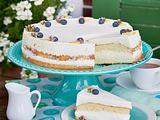 Zitronen-Joghurt-Torte Rezept