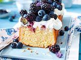 Zitronen-Kastenkuchen mit Heidelbeeren und Brombeeren Rezept-F8508801