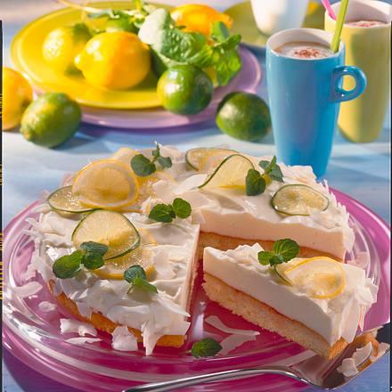 Zitronen-Limetten-Torte Rezept