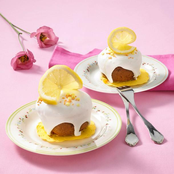 Zitronen-Mandel-Muffins Rezept