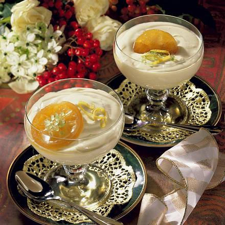 Zitronen-Mascarpone-Becher Rezept