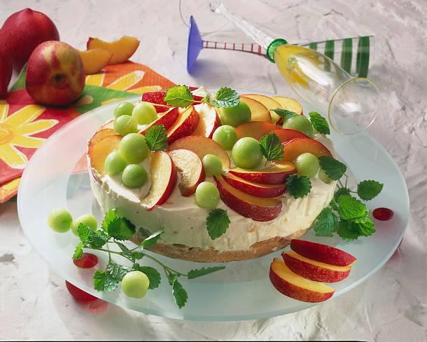 Zitronen-Melonen-Torte Rezept
