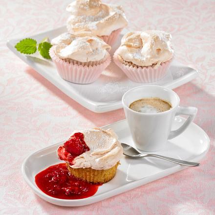 Zitronen-Muffins mit Baiser Rezept