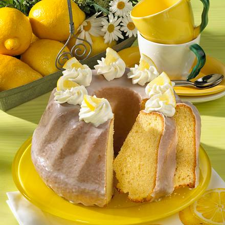 Zitronen-Napfkuchen Rezept