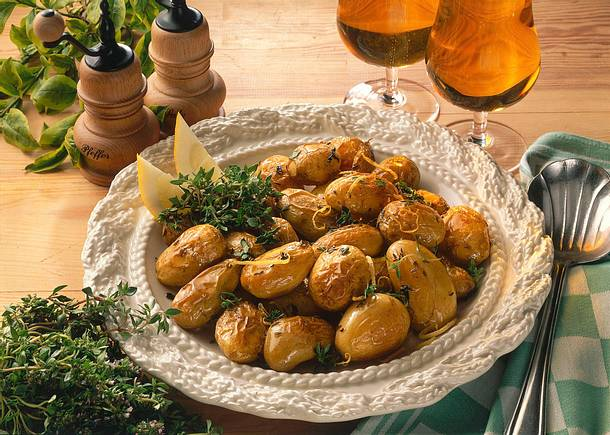 Zitronen-Ofen-Kartoffeln Rezept
