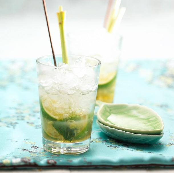 Zitronengras-Caipirinha Rezept