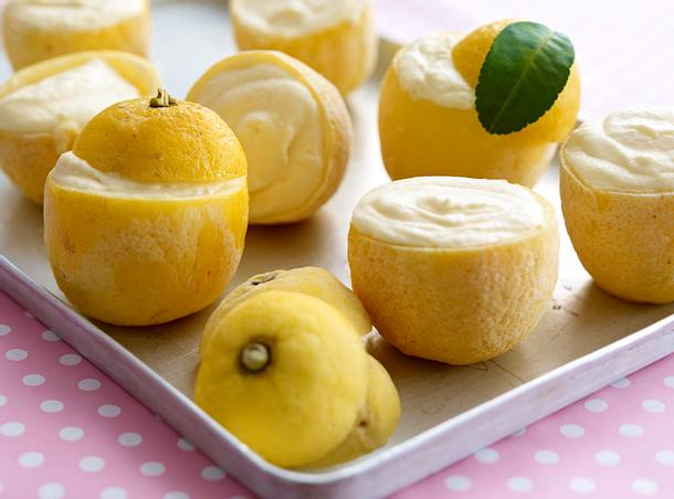 Zitronenparfait Rezept