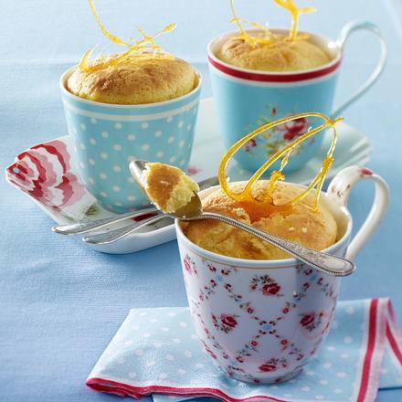 Zitronenpudding mit Karamell Rezept