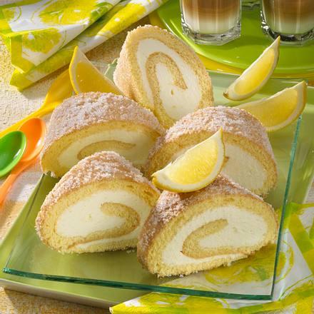 Zitronenrolle Rezept