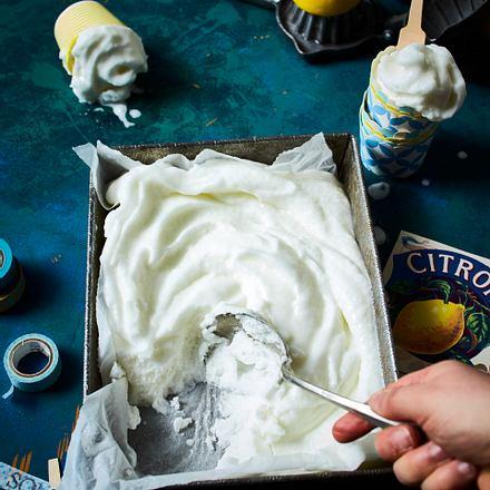 Zitronensorbet Rezept