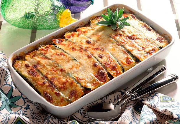 Zucchini-Auberginen-Moussaka Rezept