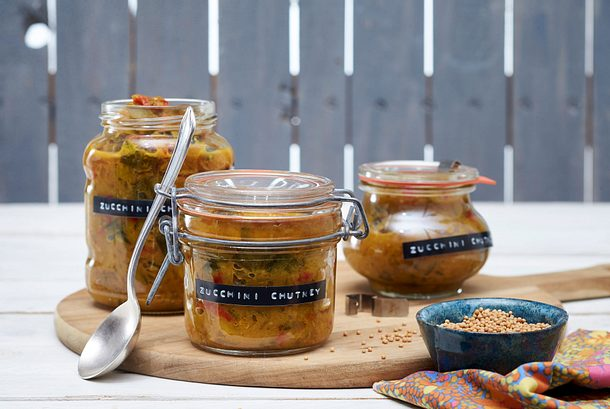 Zucchini-Chutney Rezept