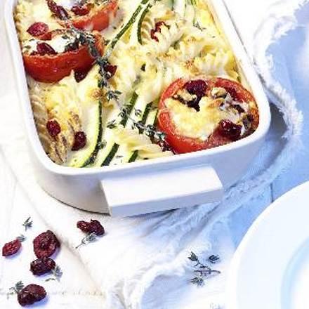Zucchini-Cranberry-Auflauf Rezept