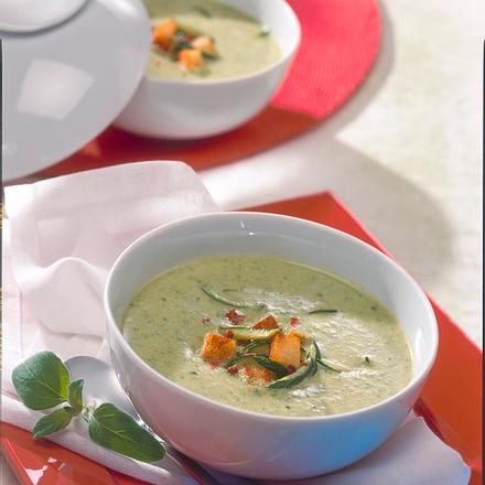 Zucchini-Cremesuppe Rezept
