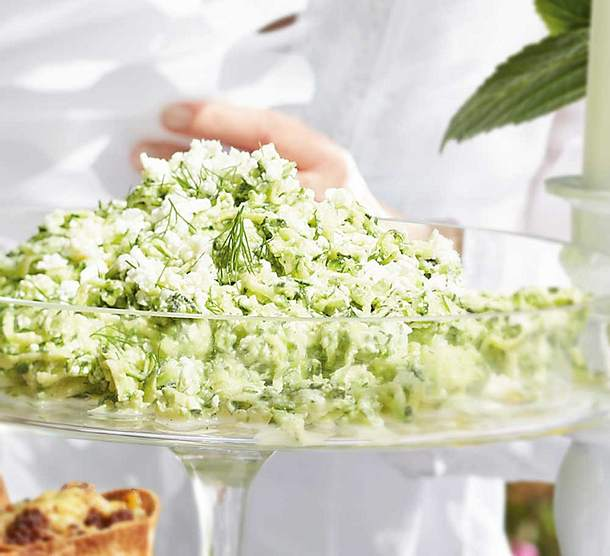 Zucchini-Feta-Salat Rezept