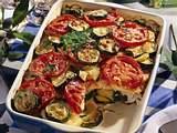 Zucchini-Fisch-Moussaka Rezept