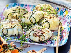 Zucchini-Fischpäckchen Rezept