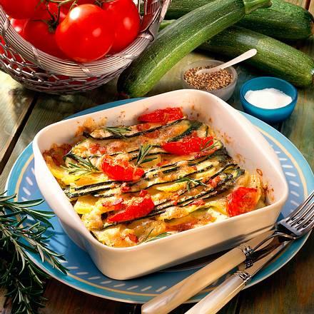 Zucchini-Gratin Rezept