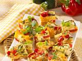 Zucchini-Paprika-Tortilla Rezept