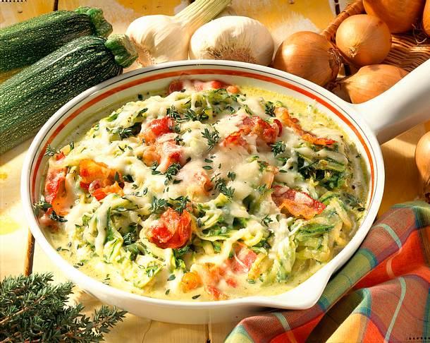 Zucchini-Pfanne Rezept