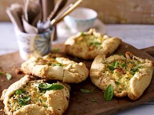 Zucchini-Ricotta-Fladen Rezept
