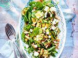 Zucchini-Spinat-Spektakel Rezept