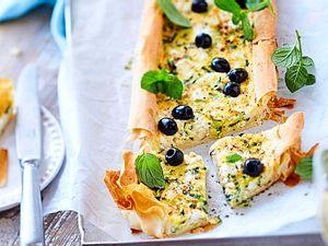 Zucchini-Tarte für grüne Gaumen Rezept