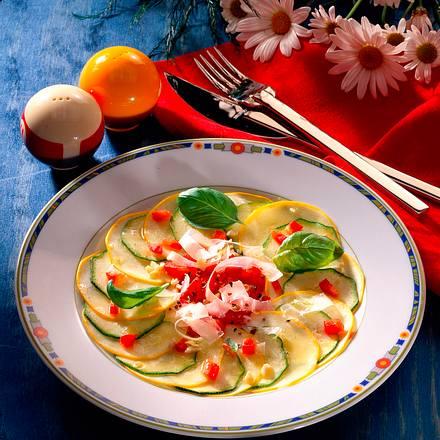 Zucchinicarpaccio Rezept