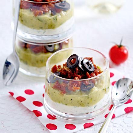 Zucchinipüree mit getrockneten Tomaten Rezept