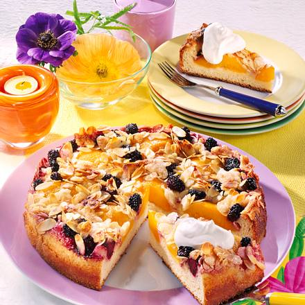 Zucker-Obst-Kuchen Rezept