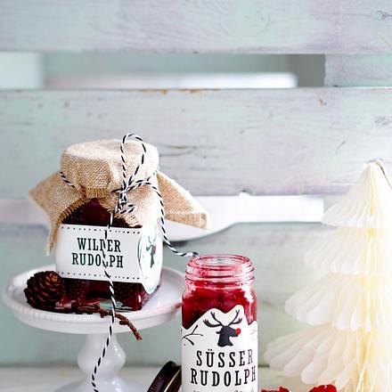 Zweierlei Cranberry-Konfitüre Rezept