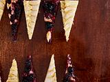 Zweierlei Obstkuchen vom Blech (Backgammon) Rezept