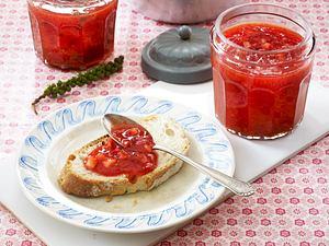 Zweierlei schnelle Erdbeerkonfitüren Rezept