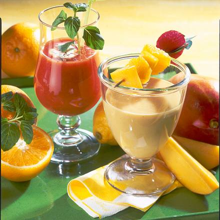 Zweierlei Vitamin-Cocktails Rezept