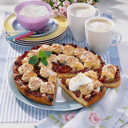 Zwetschen-Marzipan-Makronen-Kuchen Rezept