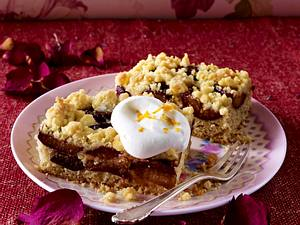 Zwetschenkuchen mit Butter-Orangen-Streuseln Rezept