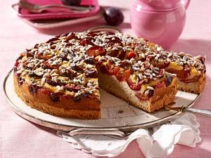 Zwetschenkuchen mit Honigguss Rezept