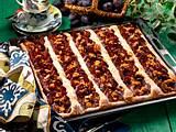 Zwetschenkuchen mit Mandelkrokant Rezept