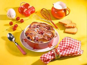 Zwieback-Vanille-Michel mit Kirschen Rezept