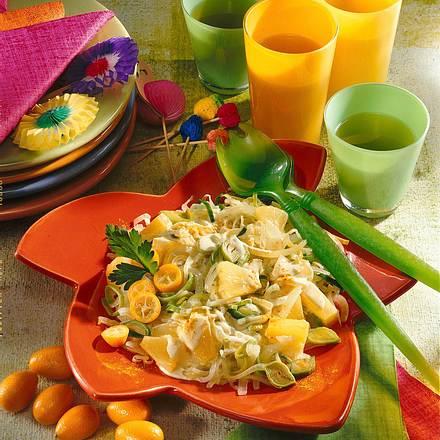 Zwiebel-Ananas-Salat Rezept