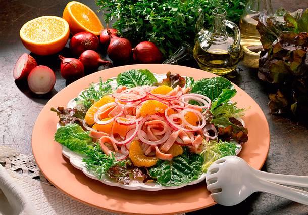 Zwiebel-Orangen-Salat Rezept