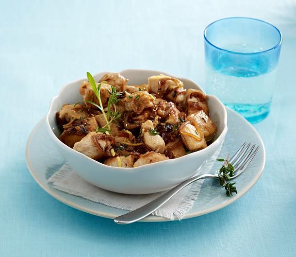 Zwiebel-Putengulasch Rezept