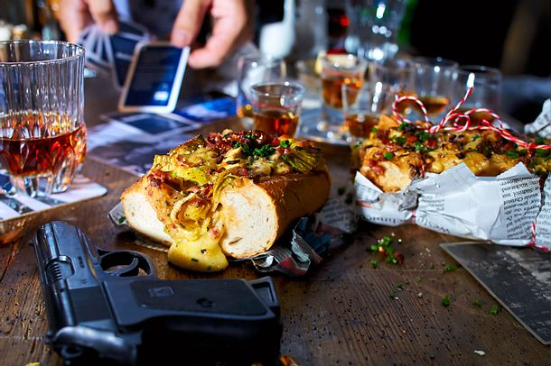 Zwiebel-Speck-Brot mit Porreekomplizen Rezept