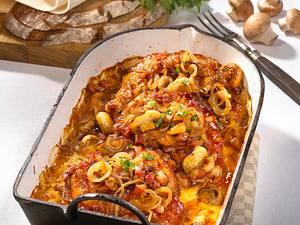 Zwiebelkoteletts aus dem Ofen Rezept